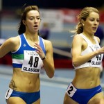 Sprint se nalazi u zonama 4 i 5, a puls je blizu maksimuma. Flickr: scottish athletics