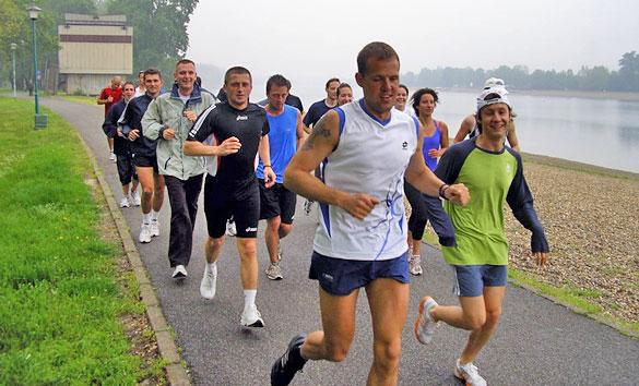 Ada april 2010 trcanje Lepa mesta za trčanje u Beogradu