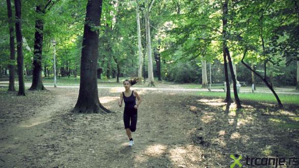 hajd park devojka Lepa mesta za trčanje u Beogradu