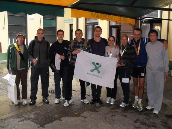 Ekipa Trčanje.rs na 17. Novosadskom maratonu