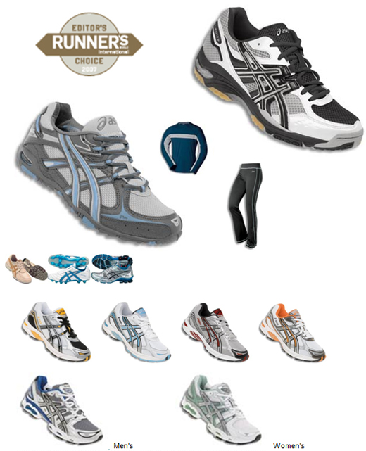 ASICS u Runners World magazinu