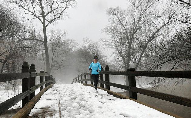Trčanje po snegu? Trčanje, a napolju minus?