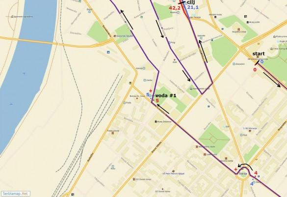trasa03 585x401 Detaljna trasa Beogradskog maratona