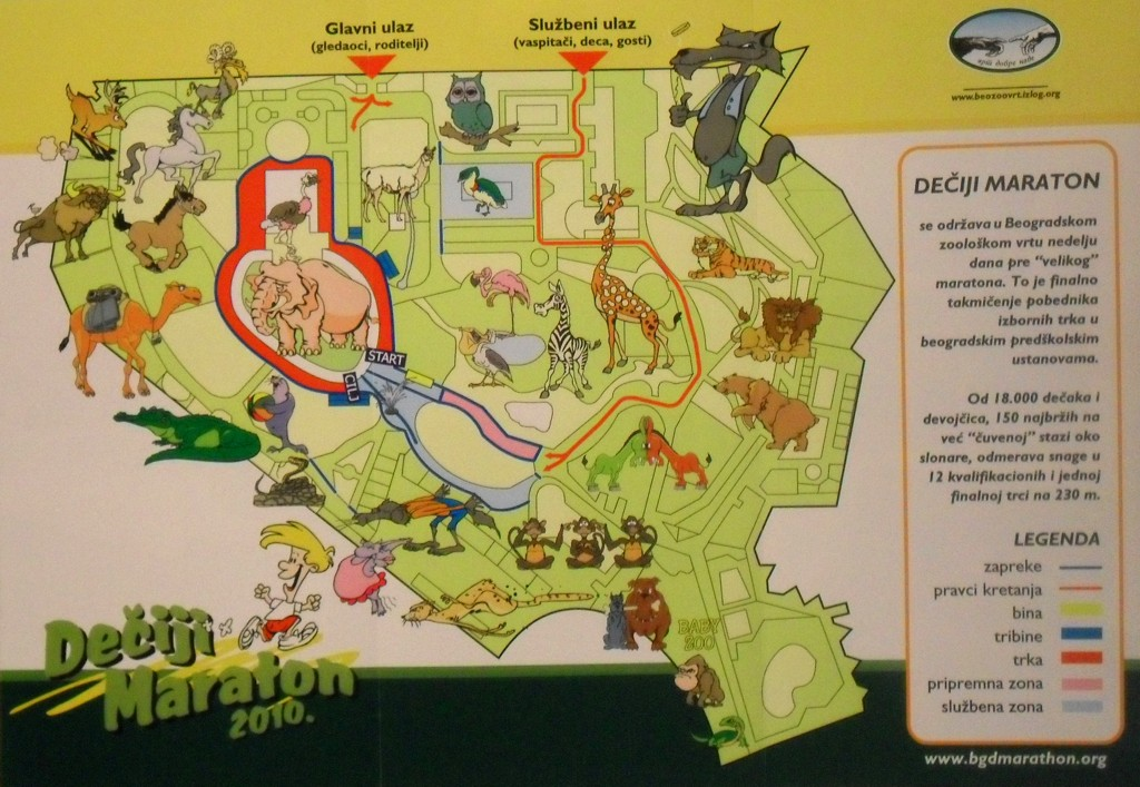 Zoo Vrt Beograd Mapa Superjoden