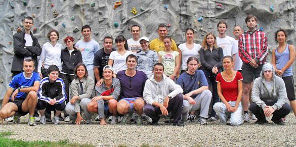 Ekipa sa prvog dana treninga
