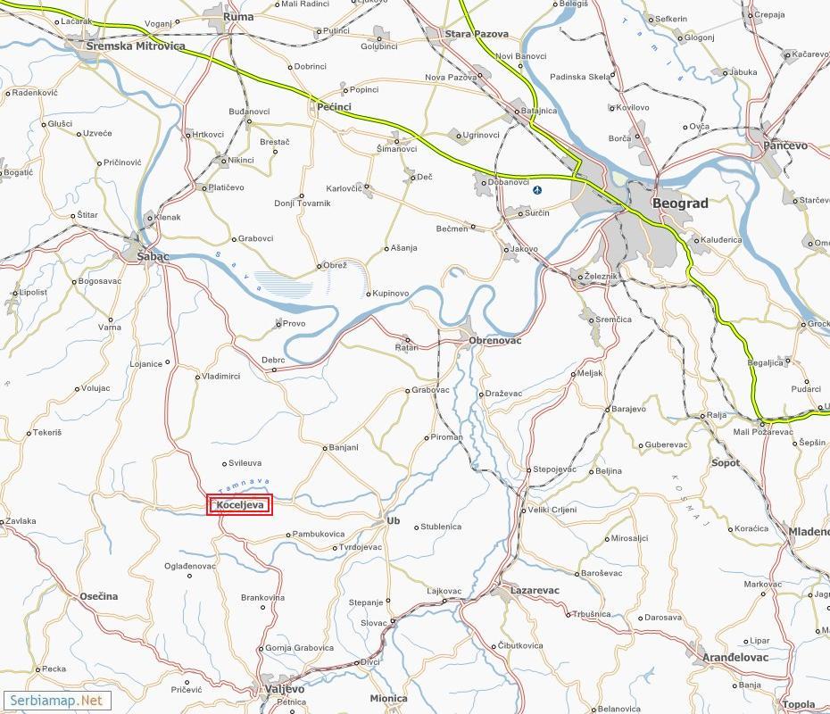 koceljeva mapa 1. Koceljevački Klima bloc maraton koceljeva mapa