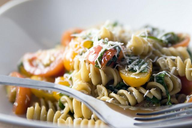 pasta spagete tanjir
