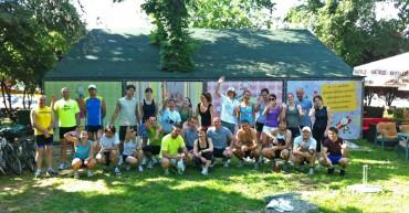 Ukupno oko tridesetak ljudi na zajedničkom treningu
