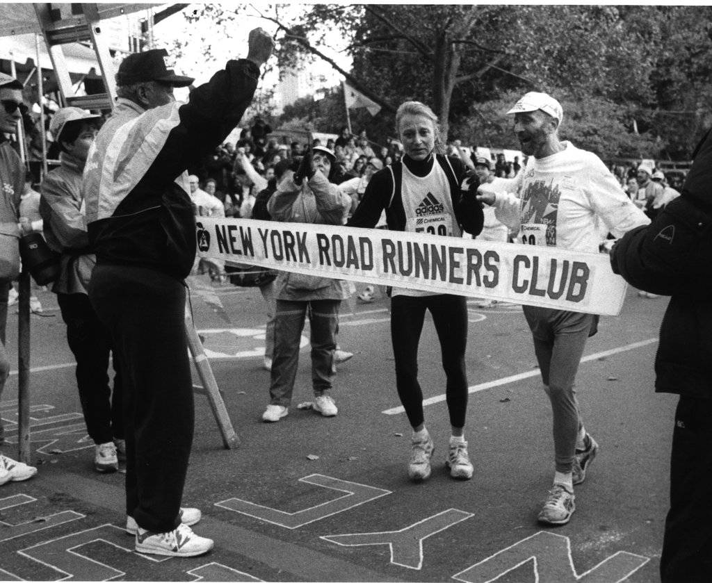 Lebow ran in the inaugural marathon in 1970, finishing 45th out of 55 runners with a time of 4:12:09. He ran his last NYC Marathon on November 1, 1992 in celebration of his 60th birthday, after being diagnosed with brain cancer in early 1990, with his friend, nine-time NYC Marathon women's winner Grete Waitz, with a time of 5:32:35  free to run