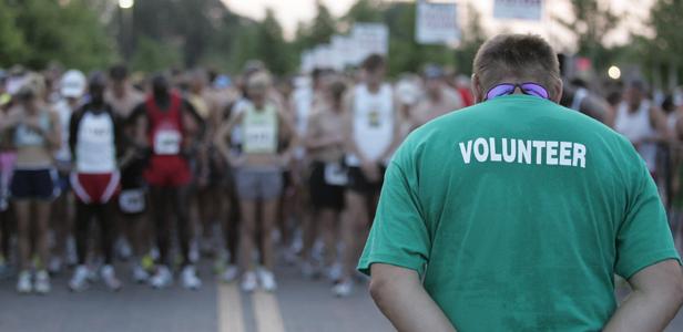 Volonteri na Beogradskom maratonu