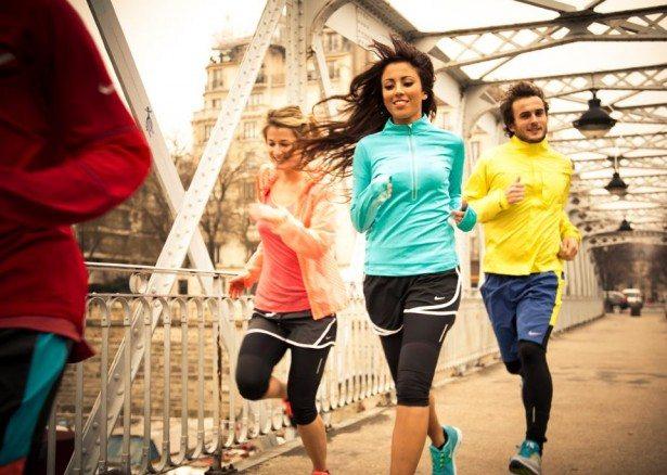 trcanje grupa 615x438 Koja je razlika između trčanja i džoginga?