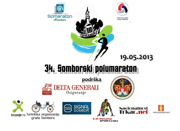 34. Somborski polumaraton