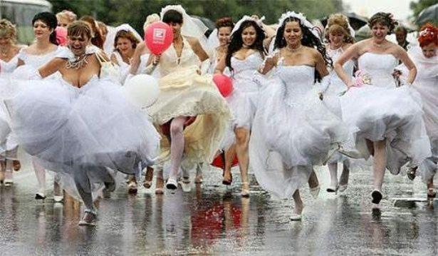 Trka u venčanicama