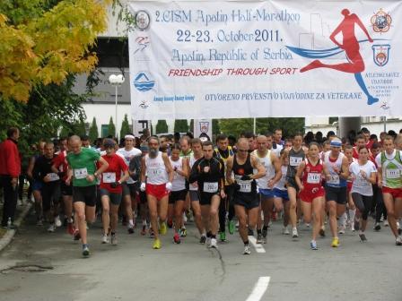Start 2011. godine smanjeno 18. Dunavski polumaraton u Apatinu [NAJAVA]