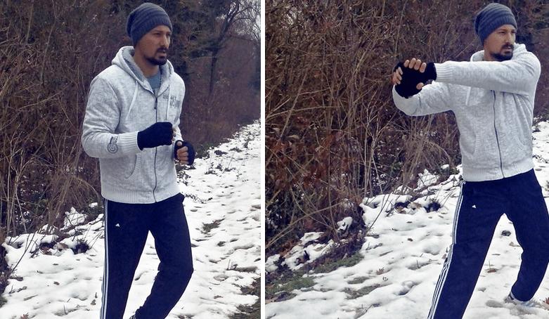 Zašto Andrej trči zimi?