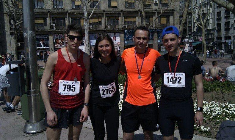 Nikola Miroković prvi polumaraton