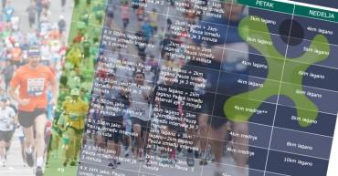 trening za prvi polumaraton