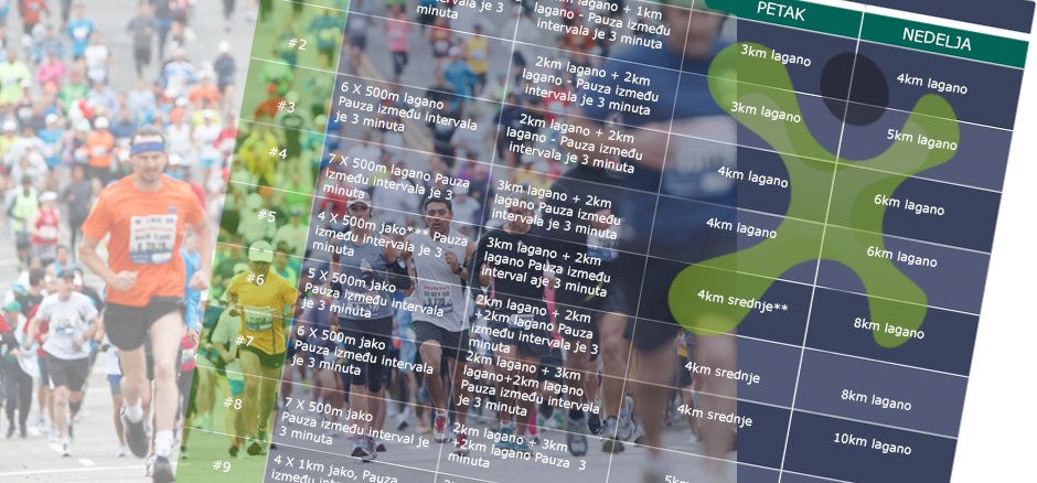 Trening za prvi polumaraton – najlepši novogodišnji poklon!