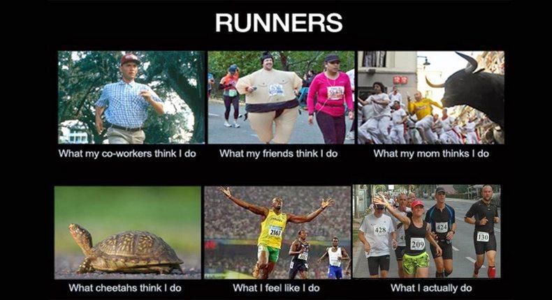 kako trkače vidi okolina