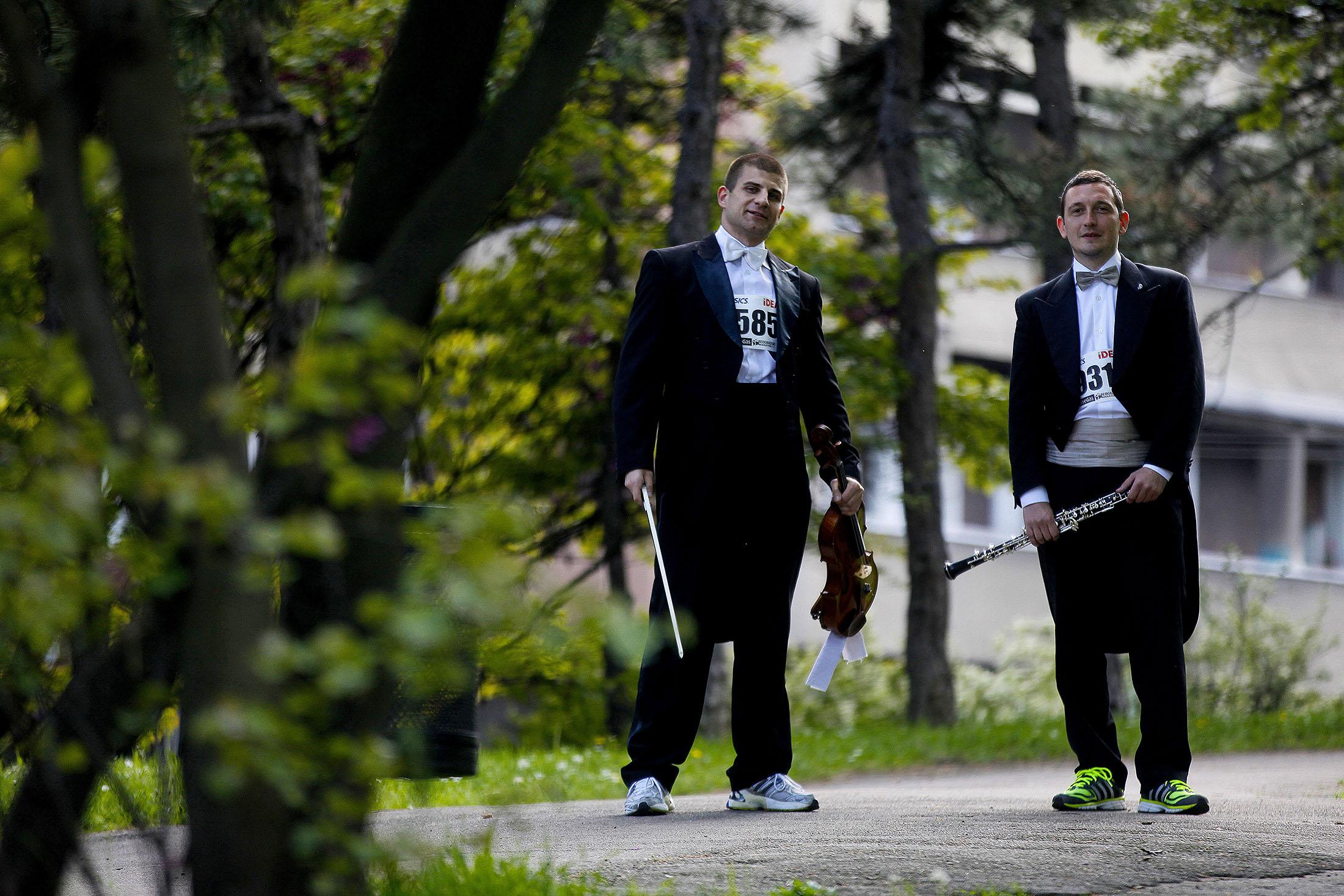 Filharmoničari maratonci