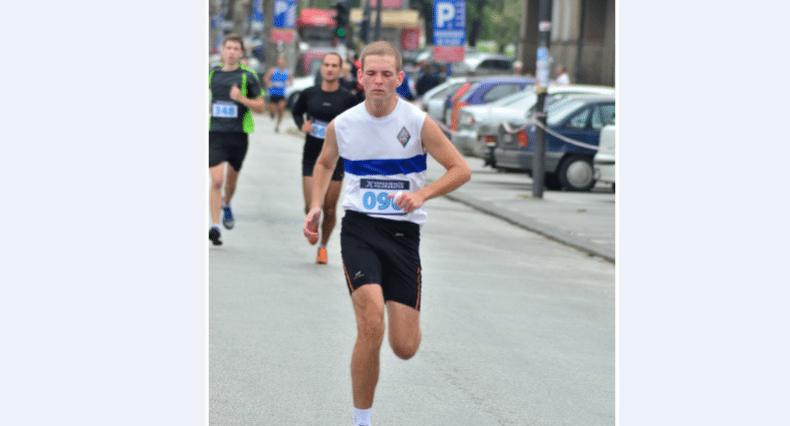 filip na polumaratonu