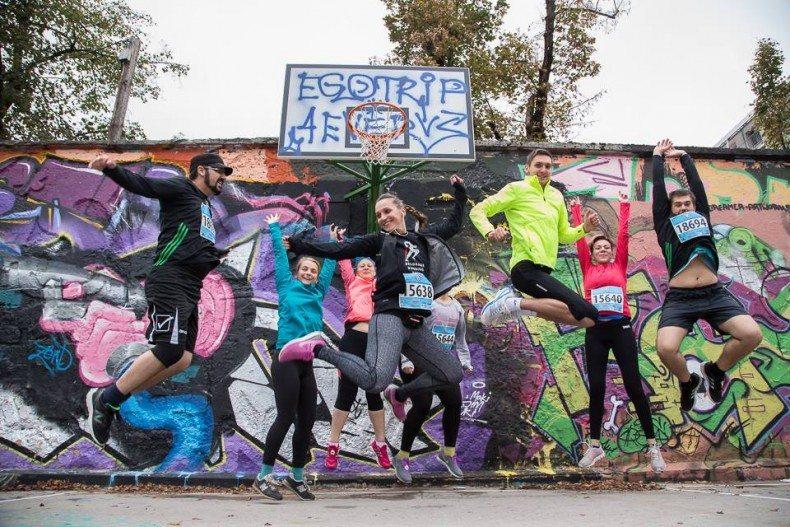 plava grupa škola trčanja