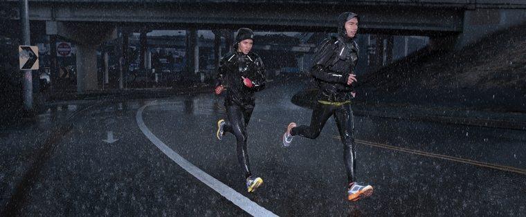 trčanje kiša