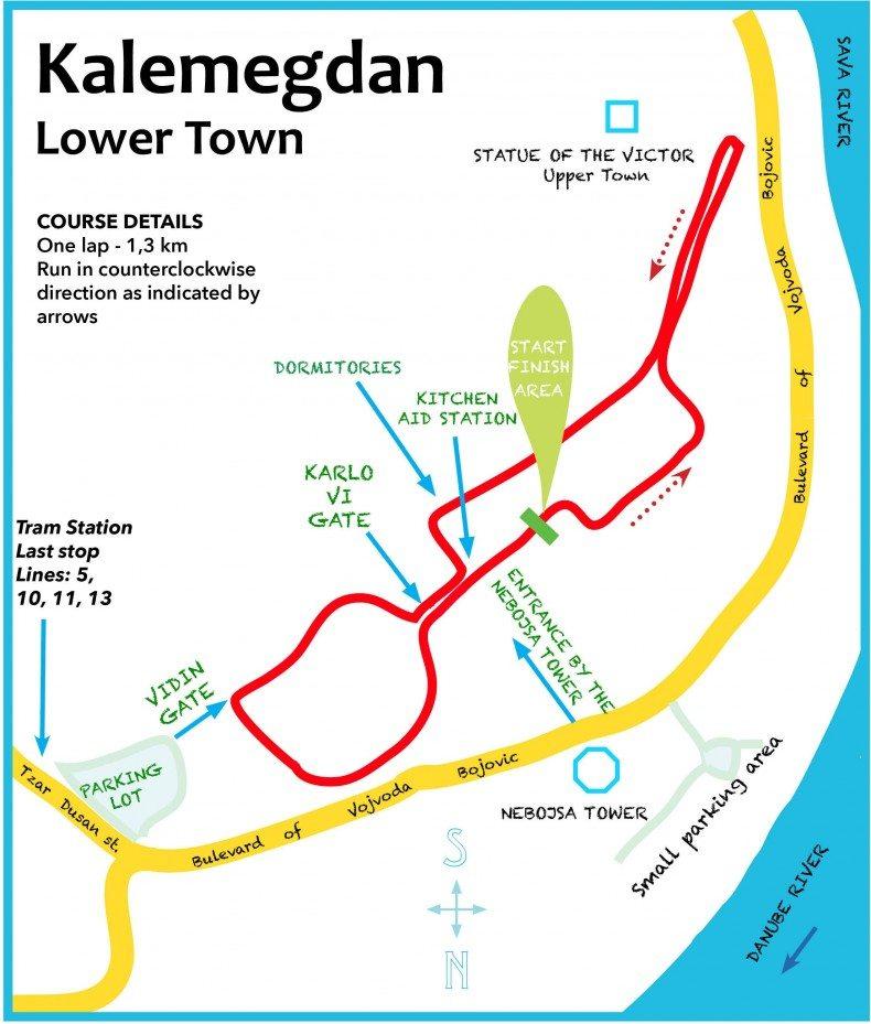 Mapa staze