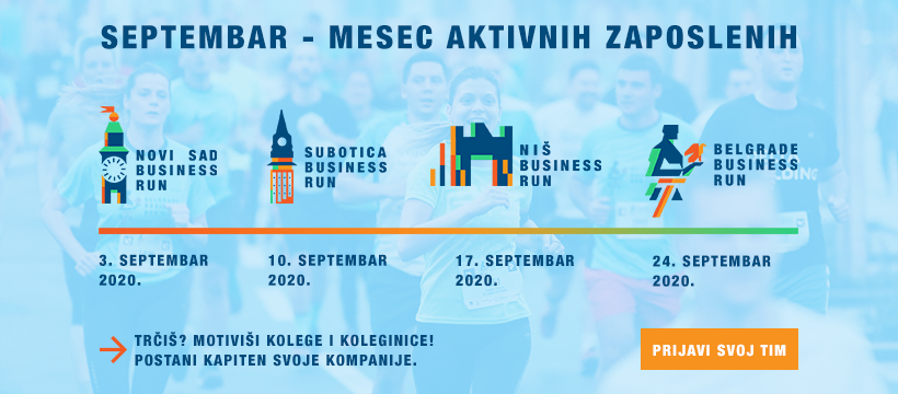 Belgrade Business Run 2020