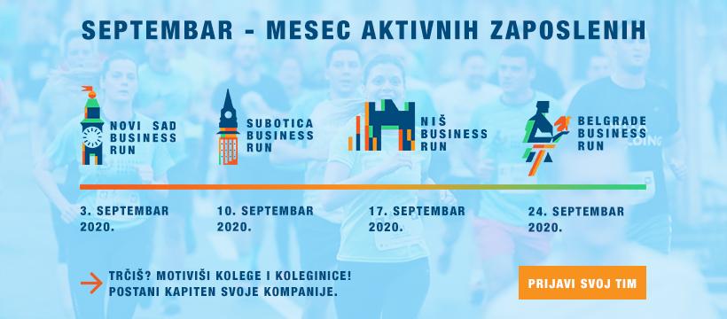 Belgrade Business Run 2020